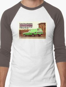 Holden Sandman Panel Van - Nostalgic © Men's Baseball ¾ T-Shirt
