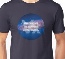 Truth Conditions Unisex T-Shirt