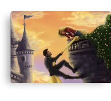 Climbing More Walls Canvas Print