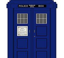 Vintage Police Box by superstarbing