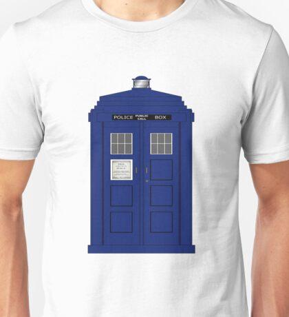 Vintage Police Box Unisex T-Shirt