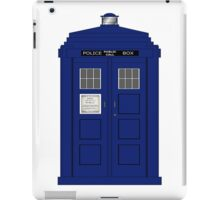 Vintage Police Box iPad Case/Skin