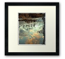 Spring is SOON! Framed Print