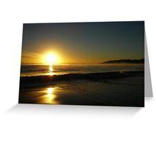 Byron Sunrise Greeting Card