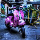 Pink Vespa by heavenideas