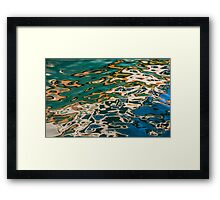 Reflections of the Oriole in the Lake at Harbourfront Framed Print