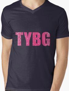 TYBG Mens V-Neck T-Shirt