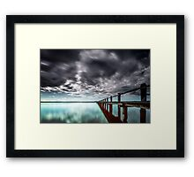 Toukley Jetty NSW Australia Framed Print