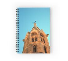 Steeple and Crosses Spiral Notebook