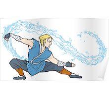 Anders as a Waterbender Poster