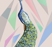 In the month of June the peacock danced 3  by Thecla Correya