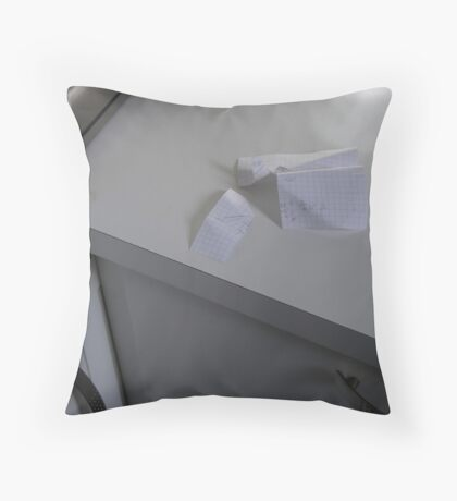 Sketch for Angles... Throw Pillow