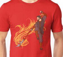 Hawke as a Firebender Unisex T-Shirt