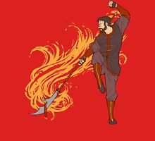 Hawke as a Firebender Unisex T-Shirt