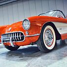 Orange VETTE by Robert Beck