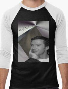 HUGH JACKMAN  ''CELEBRITY'' Men's Baseball ¾ T-Shirt