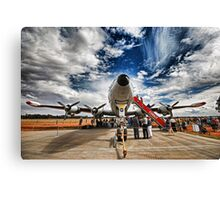 Super, Super Constellation Canvas Print