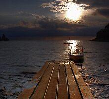 Sunset @ Amasra by E.Celik Suzen