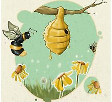 Oh, bee hive! by greenlitpete