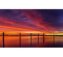 Redland Bay Glory - Qld Australia Photographic Print