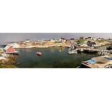 Peggy's Cove panoramic view, Canada Photographic Print