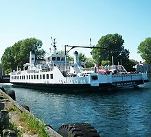 Wolf Islander III FERRY BOAT KINGSTON ONTARIO CANADA ..VERSION ONE>>PICTURE,PILLOWS,TOTE BAGS ECT.. by ✿✿ Bonita ✿✿ ђєℓℓσ