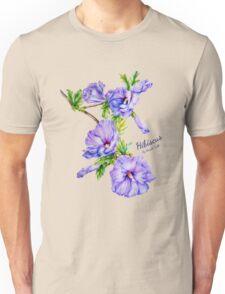 Hibiscus syriacus fine art Unisex T-Shirt