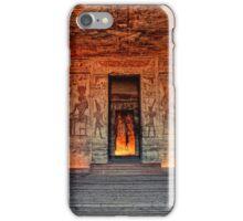 Temple of Hathor and Nefertari Abu Simbel iPhone Case/Skin