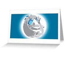 Lugia Greeting Card