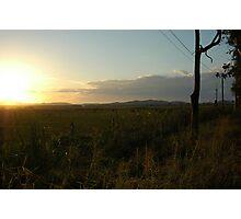 Open field Photographic Print