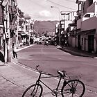 Bicycle on street, Vung Tau, Vietnam by Sheldon Levis
