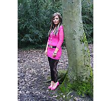 Model Tania (Ironbridge park) Photographic Print