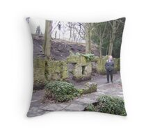 Stoned Viewing Throw Pillow