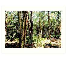 Forest life Art Print