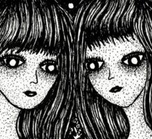 Gemini, the twins Sticker