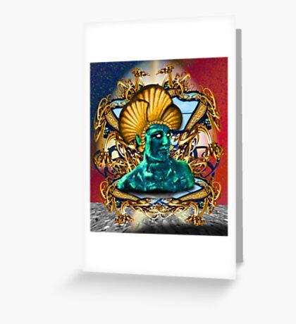 Bene Gesserit Shrine Greeting Card