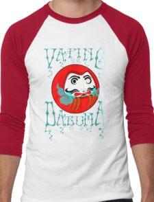 vaping daruma Men's Baseball ¾ T-Shirt