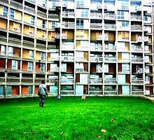 Park Hill Flats, Sheffield by jennifersayer