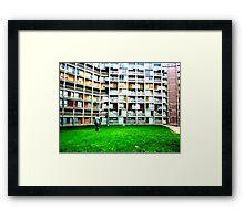 Park Hill Flats, Sheffield Framed Print