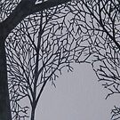 Ink Trees 1 by Christopher Clark