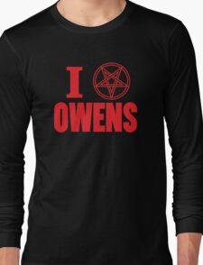Hail Owens Pentagram Long Sleeve T-Shirt