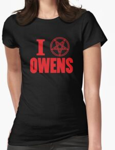 Hail Owens Pentagram Womens Fitted T-Shirt
