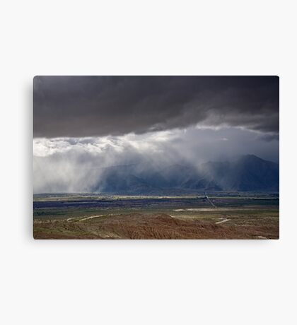 Desert Irrigation System Canvas Print