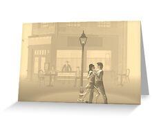 Tango at night 2 Greeting Card