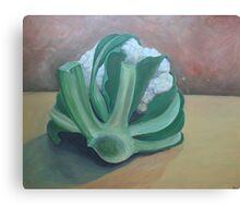 Just a Cauliflower  Canvas Print