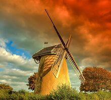 Bembridge Windmill by manateevoyager