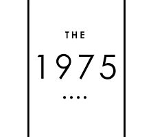 The 1975 Band Logo  by bubbleshoptee