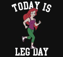 Today Is Leg Day Mermaid Gym Run by NibiruHybrid