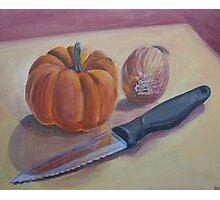 Pumpkin Stew Photographic Print
