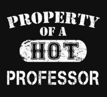 Property Of A Hot Professor - Unisex Tshirt by crazyshirts2015